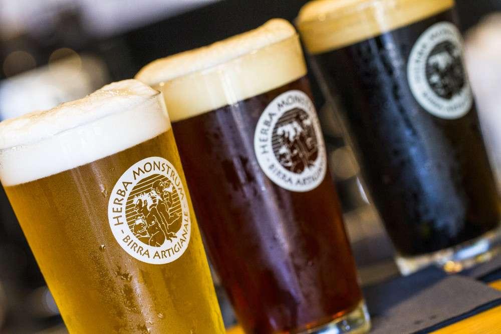 5 portate per 5 birre